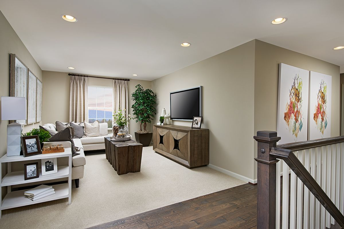 Airy Loft Pearl Model Home Hagerstown Maryland Richmond American Homes Home Richmond American Homes Richmond American