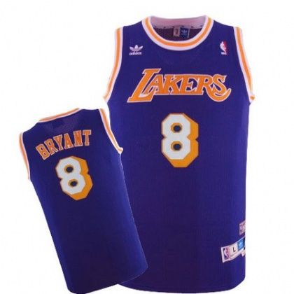 9ee76e90b24 Kobe  Bryant Jersey - Los Angeles  Lakers 8 Purple Throwback Swingman   Baskebtall Jersey. Stitched name and numbers.  15.88