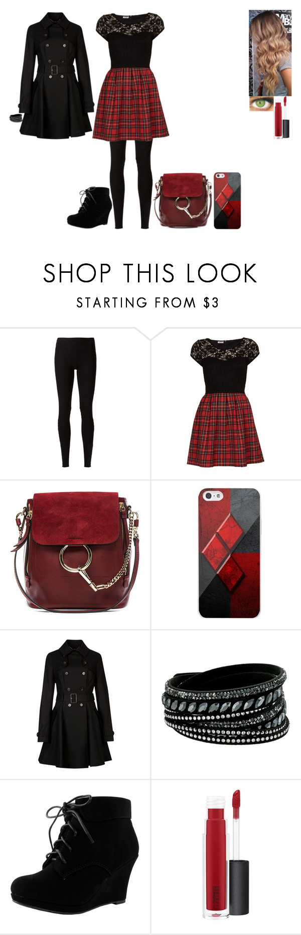 """And my heart won't beat again If I can't feel him in my veins (Day 1)"" by ilovecats-886 ❤ liked on Polyvore featuring Rick Owens Lilies, WalG, Chloé, Samsung, Ted Baker, Swarovski and MAC Cosmetics"
