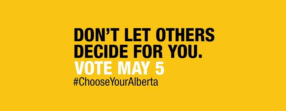 It's Election Day in Alberta. So who won your vote?  https://www.facebook.com/BIG105RedDeer/posts/10155541900975331…
