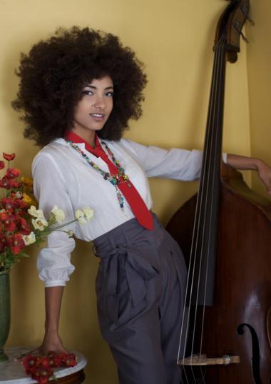 Esperanza Spalding Natural Hairstyle