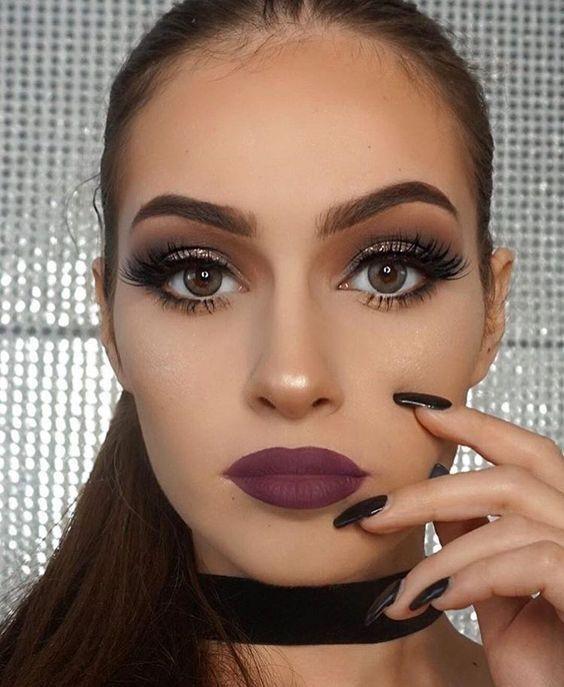 maquillaje de ojos para morenas