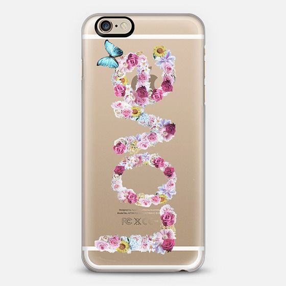 Floral Love Crystal Clear Phone Case Mit Bildern Iphone Hulle Case Iphone 6 Iphone