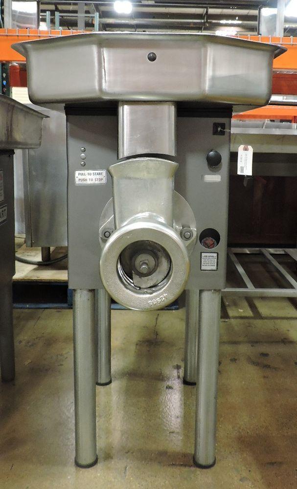 hobart commercial meat grinder chopper 3 hp