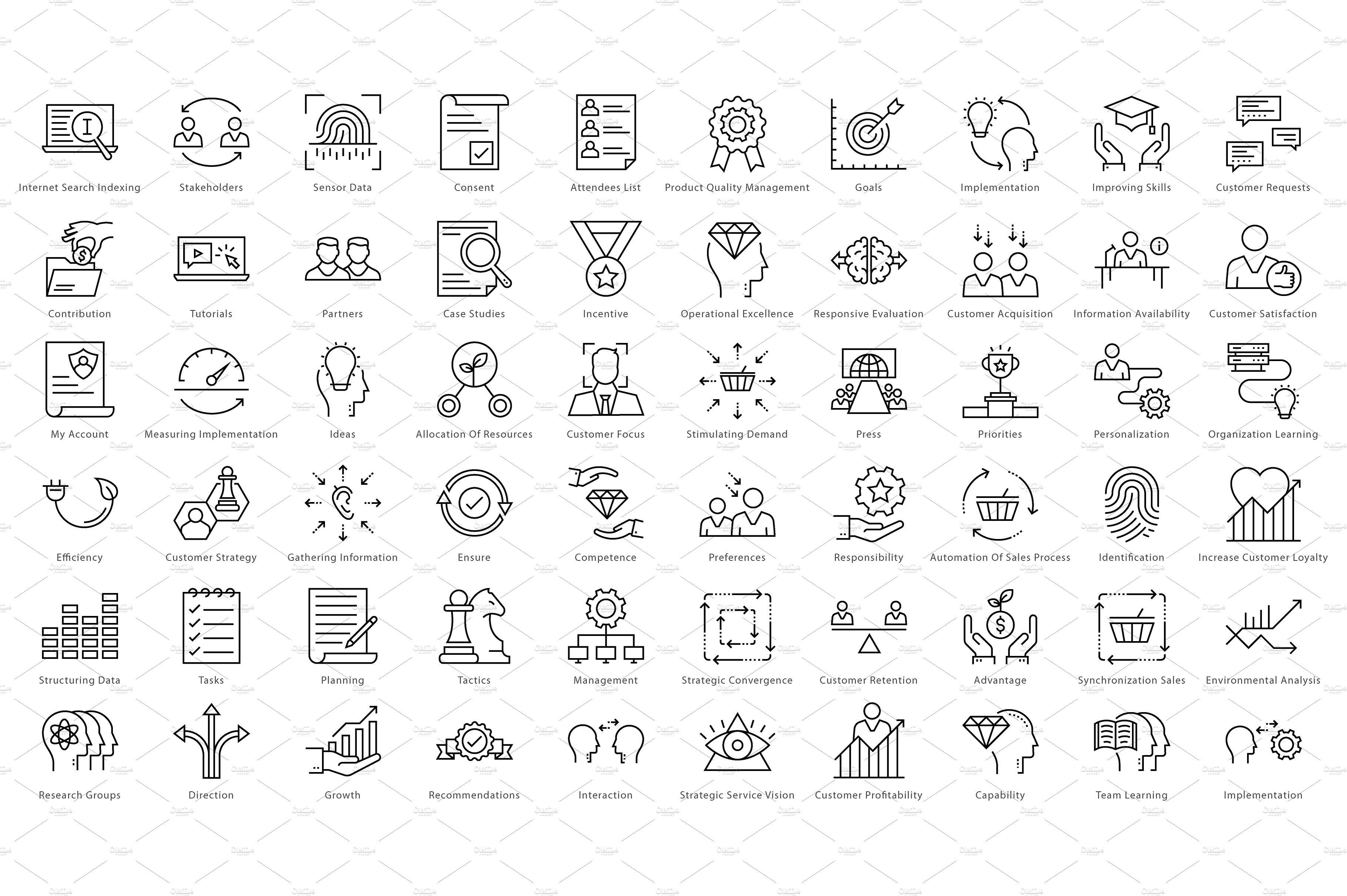 1270 Business Line Icons icon, flaticon, icons, icon pack, icon pack