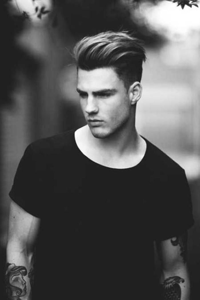 Pompadour Hairstyle Mens Hairstyles Pompadour Hairstyle Haircuts For Men