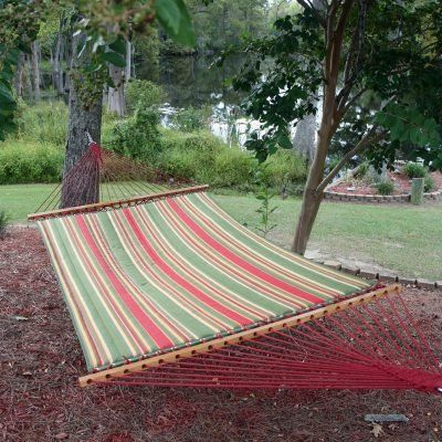 Pawleys Island Gardens Collection Large Quilted Duracord Fabric Hammock Trellis Stripe Offer Can Be Found By Clicking The Image