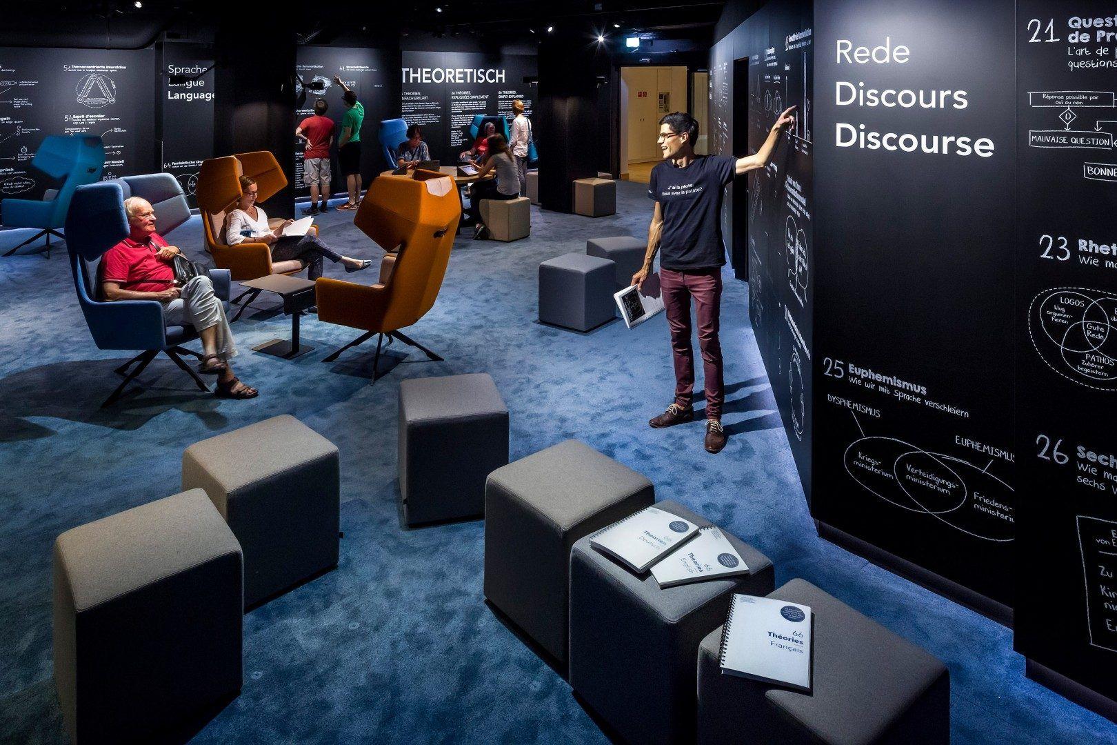 Museum F R Kommunikation Kossmann Dejong Museo Pinterest  # Muebles Bima Comedores