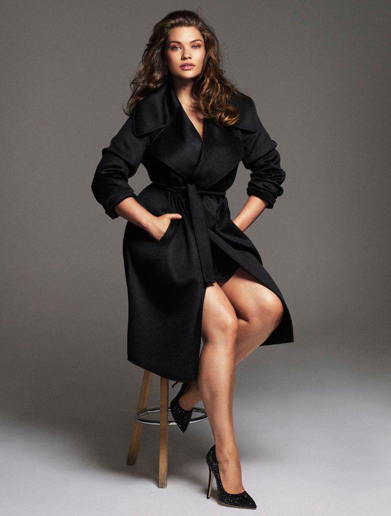 tara lynn model3 Tara Lynn Wows for Xavi Gordo in Elle Spain November 2013 Cover Shoot