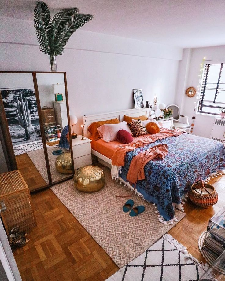 Böhmische Schlafzimmer und Bettwäsche Design-Ideen #bohemianbedrooms