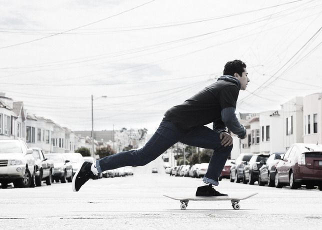 Nike And Levi S 511 Skateboarding Denim Style Masculin Levis 511 Photographie