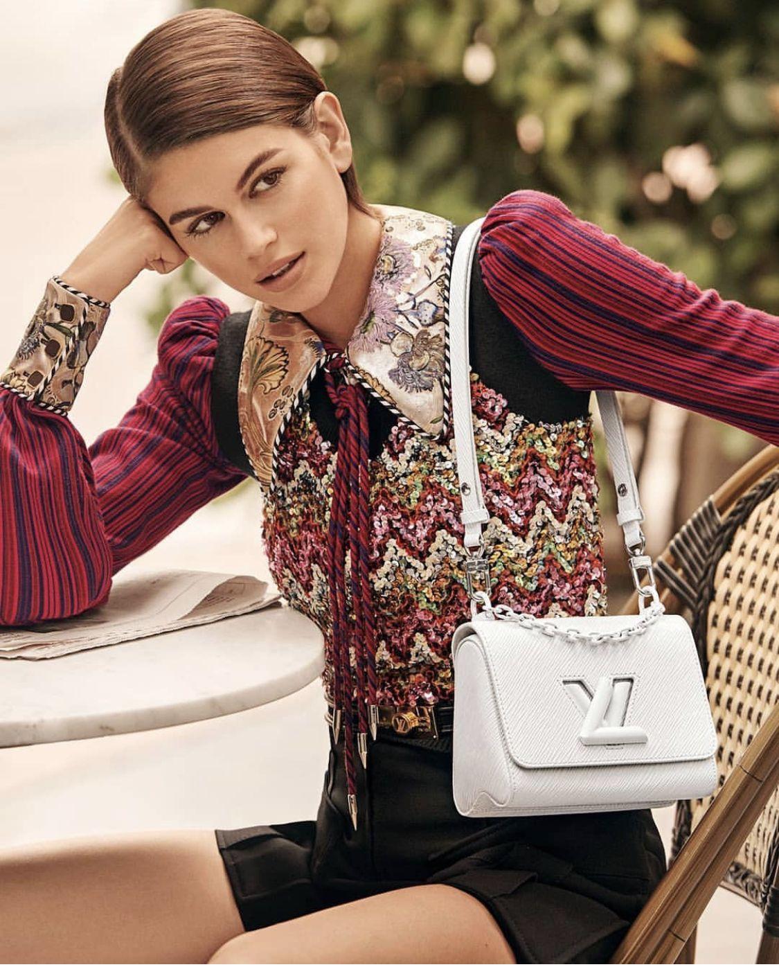 #kaiagerber for Louis Vuitton