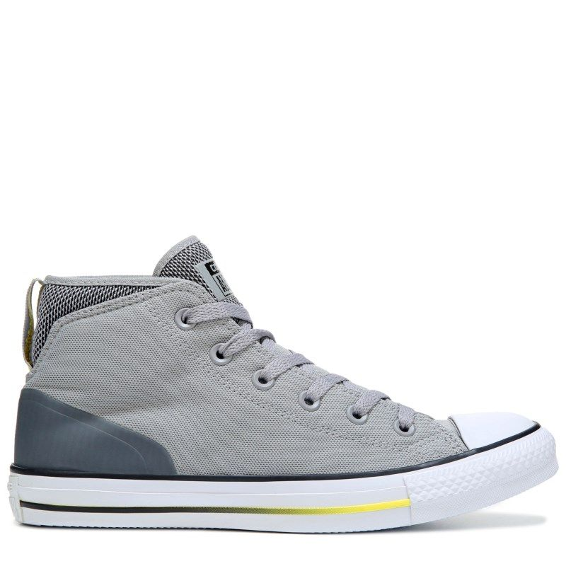 Converse Men's Chuck Taylor All Star Syde Street Mid Top Sneaker BlackGrey
