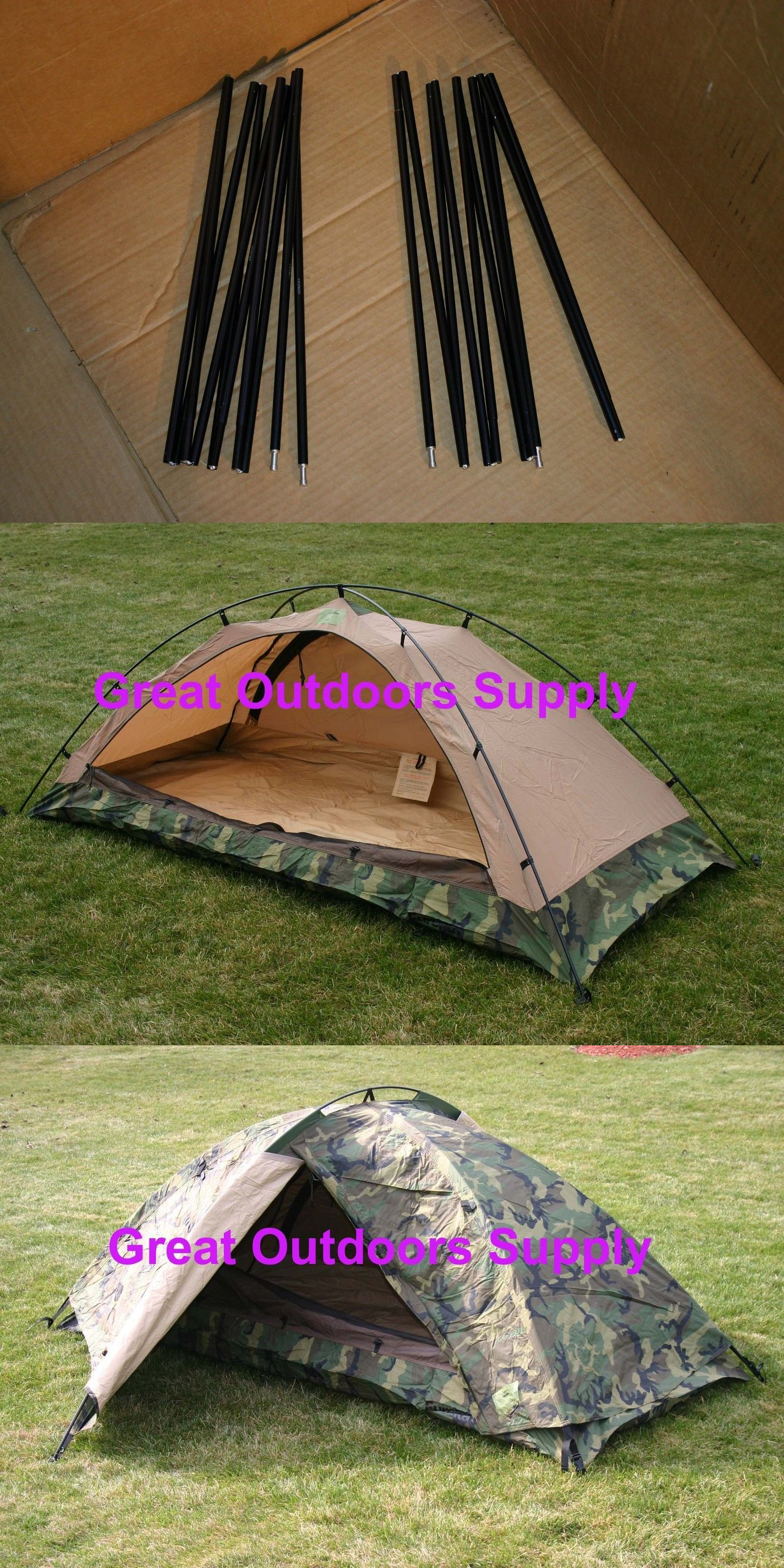 Tent and Canopy Accessories 36120 2 New Eureka Tcop Aluminum Tent Pole One Man Combat & Tent and Canopy Accessories 36120: 2 New Eureka Tcop Aluminum Tent ...