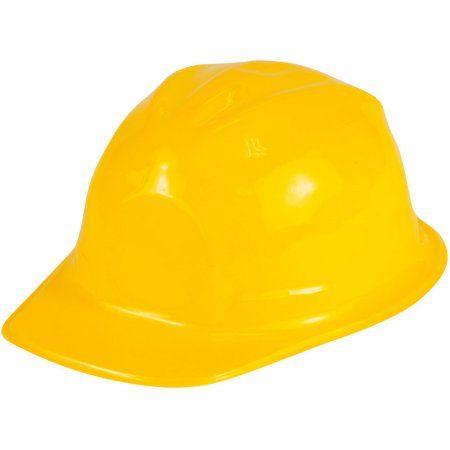 Child S Dozen Plastic Construction Hard Hat Helmet Costume Accessory Walmart Com In 2021 Construction Hat Construction For Kids Construction Party