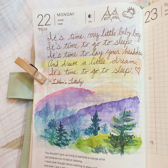 June 22; 78/100 - When he was very small, I started humming Lachlan a little tune. In the last six months, I put words to it. Th -