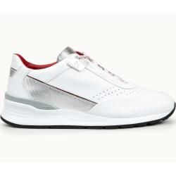 Photo of Tod's – Sneakers Tod's For Ferrari aus Leder, Silber,weiss, 10 – Shoes Tod'sTod's