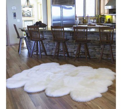 apparently, one can purchase 100% genuine sheepskin rugs at SAM'S CLUB.  Save one for me!!