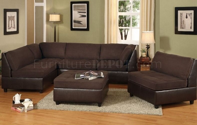 Sofa Slipcovers Chocolate Brown Sectional Couch