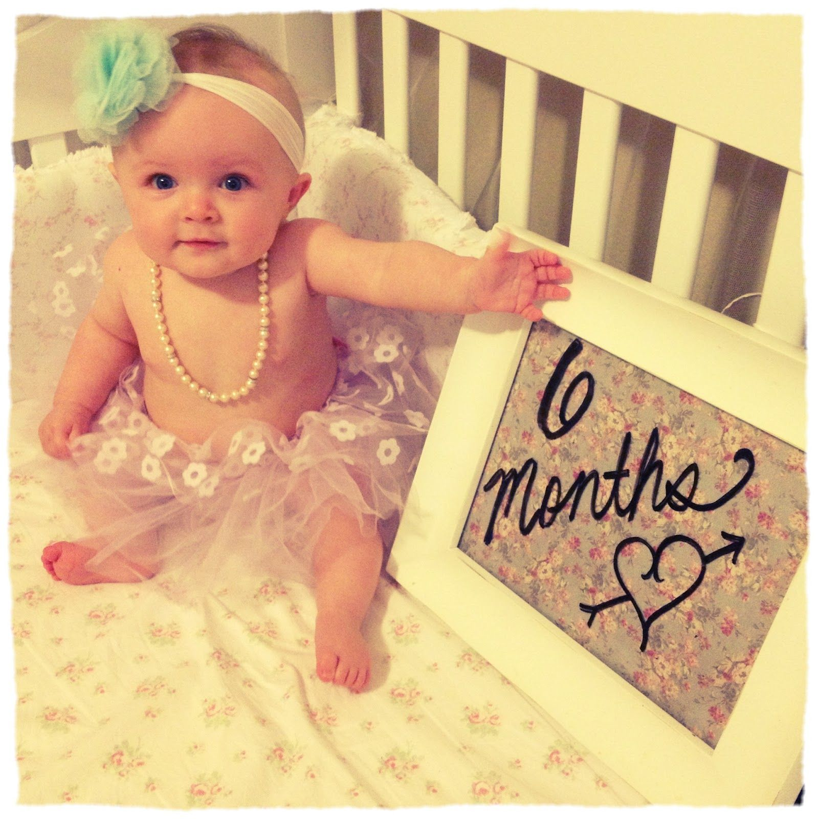 6 Month Baby Girl Photo Shoot Ideas