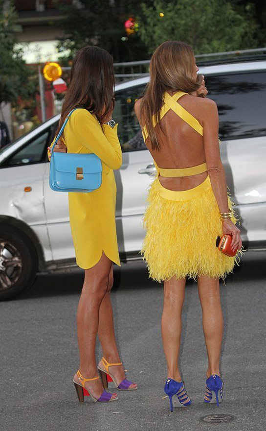 yellow dresses <3
