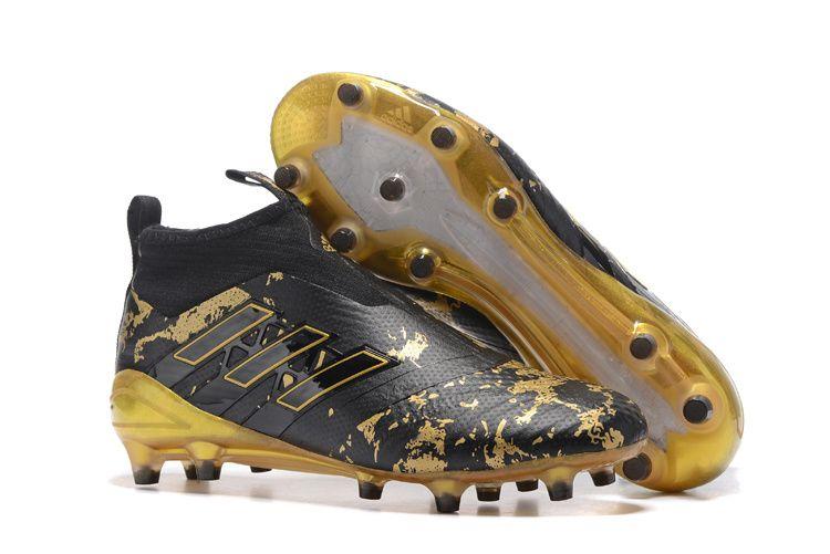 db332bd6d18c6 Adidas Ace17+ PureControl Paul Pogba Capsule Black Golden Men Soccer Cleats