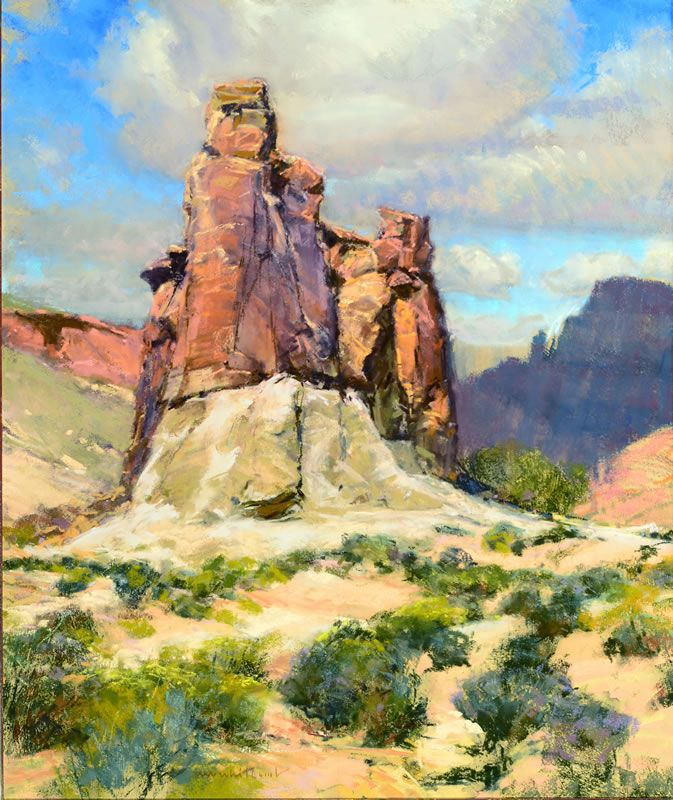 Three Dimensional Western Landscape Desert Art Landscape Art
