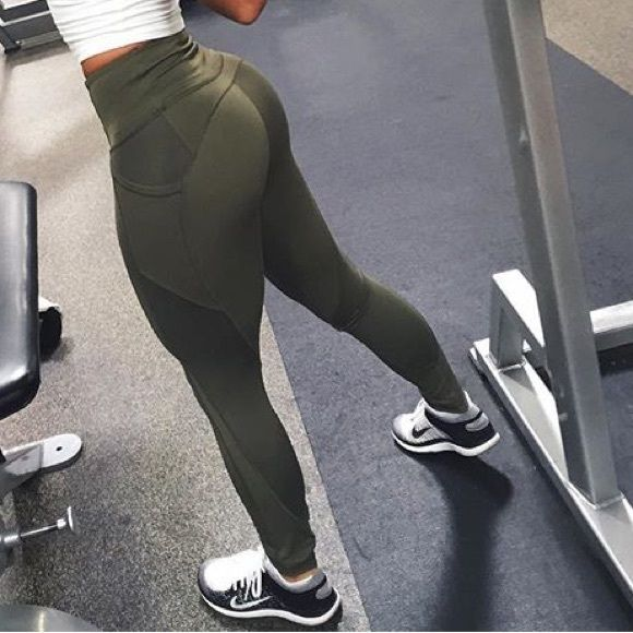 a6c1a8ca60de Lululemon - All The Right Places in Olive Athleisure, Gym Motivation,  Thighs, Pants