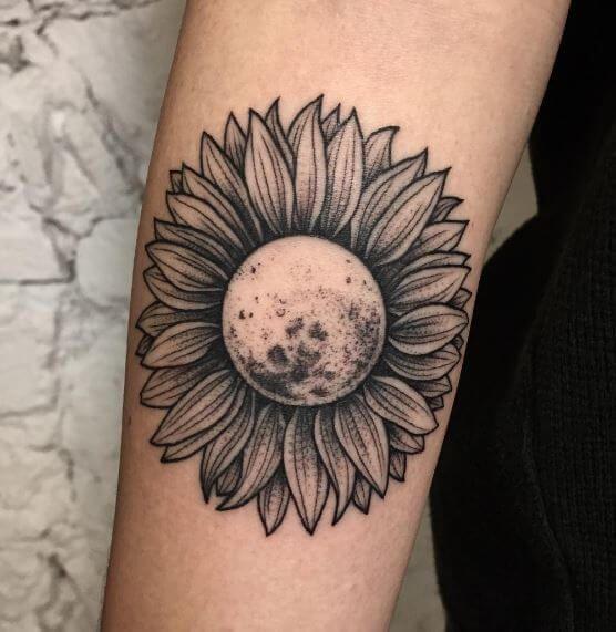 Photo of 50 Sonnenblumen Tattoos für Frauen – Tattoo Motive