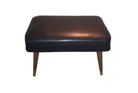 Reupholstered MId Century Modern Ottoman from by ReclamationRewind, $75.00