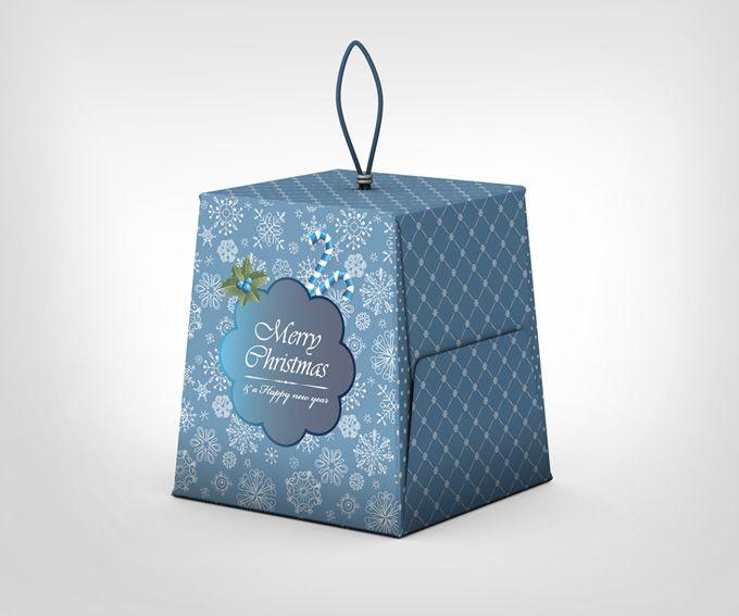 Download Christmas Box Mock Up Graphicriver Christmas Box Innovative Packaging Mockup