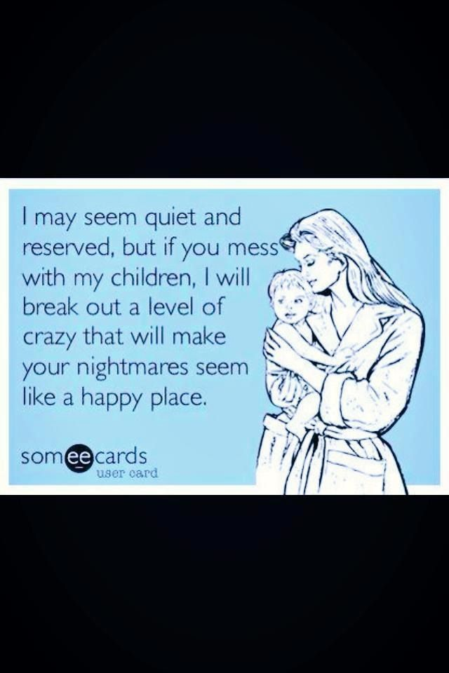 being quiet and reserved