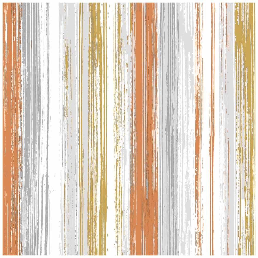 Wallpaper Stripe Orange and Yellow Designer wallpaper