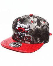 online store 1275a 9657b Hats - Street Bullies Tie Dye Denim Crown w  3D Emb Croc Faux Leather visor  Strapback Hat