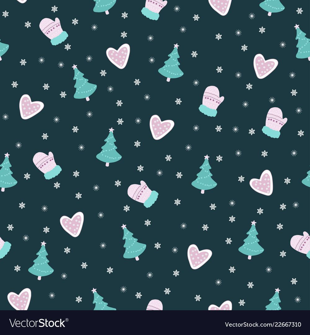 Beautiful seamless pattern with ornament vector image on