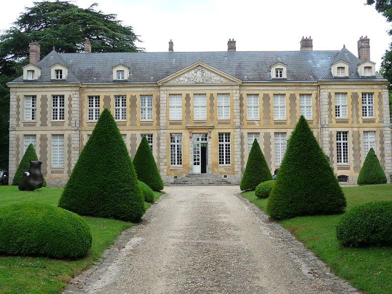 Château de Coubertin à Saint-Rémy-les-Chevreuse (Yvelines)