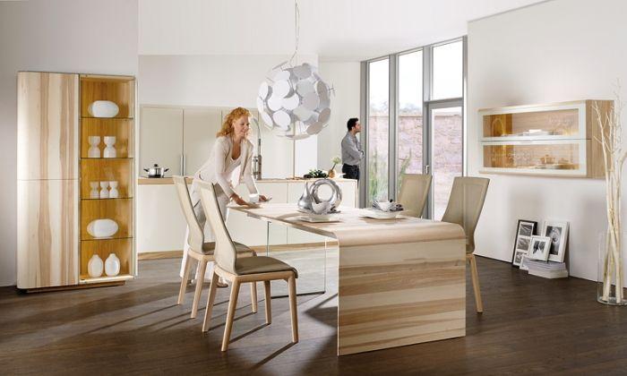 Moderne Massivholz-Esszimmermöbel \u2013 Die Natur spüren Eszimmer