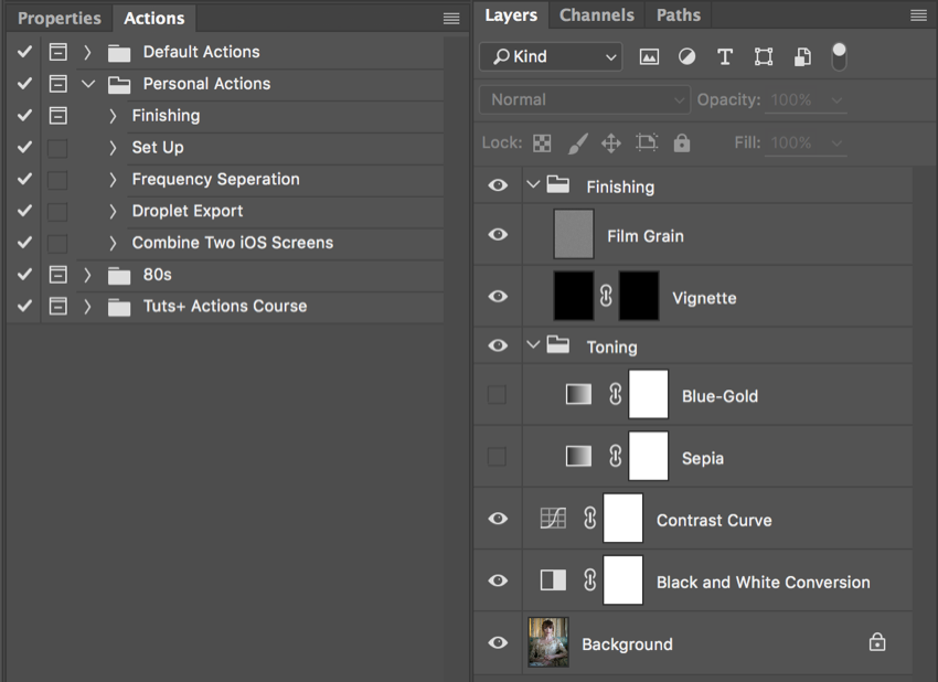 How to Build Custom Photoshop Actions For Your Photography Workflow