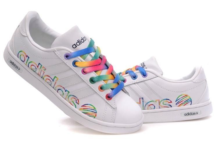 Adidas rainbow tennis shoes   Shoes   Nike shoes, Nike, Nike women a6376395235