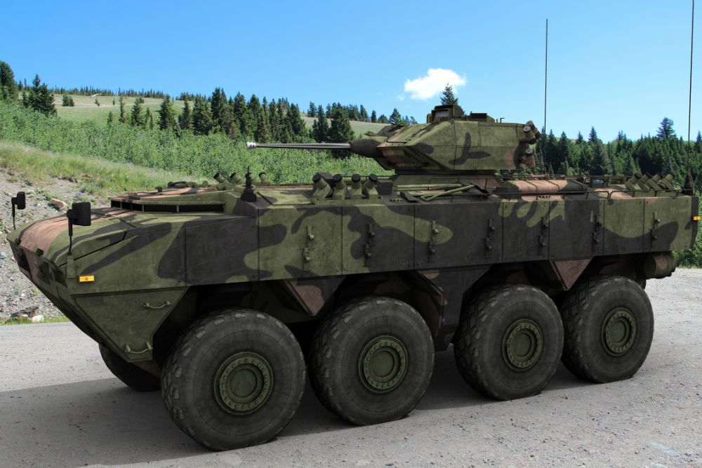Deftech AV8 Gempita Armoured Fighting Vehicles (AFV) – Malaysia