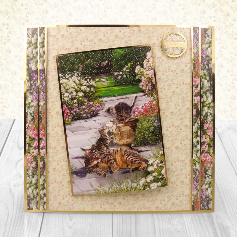 Декупаж из открытки, любовью