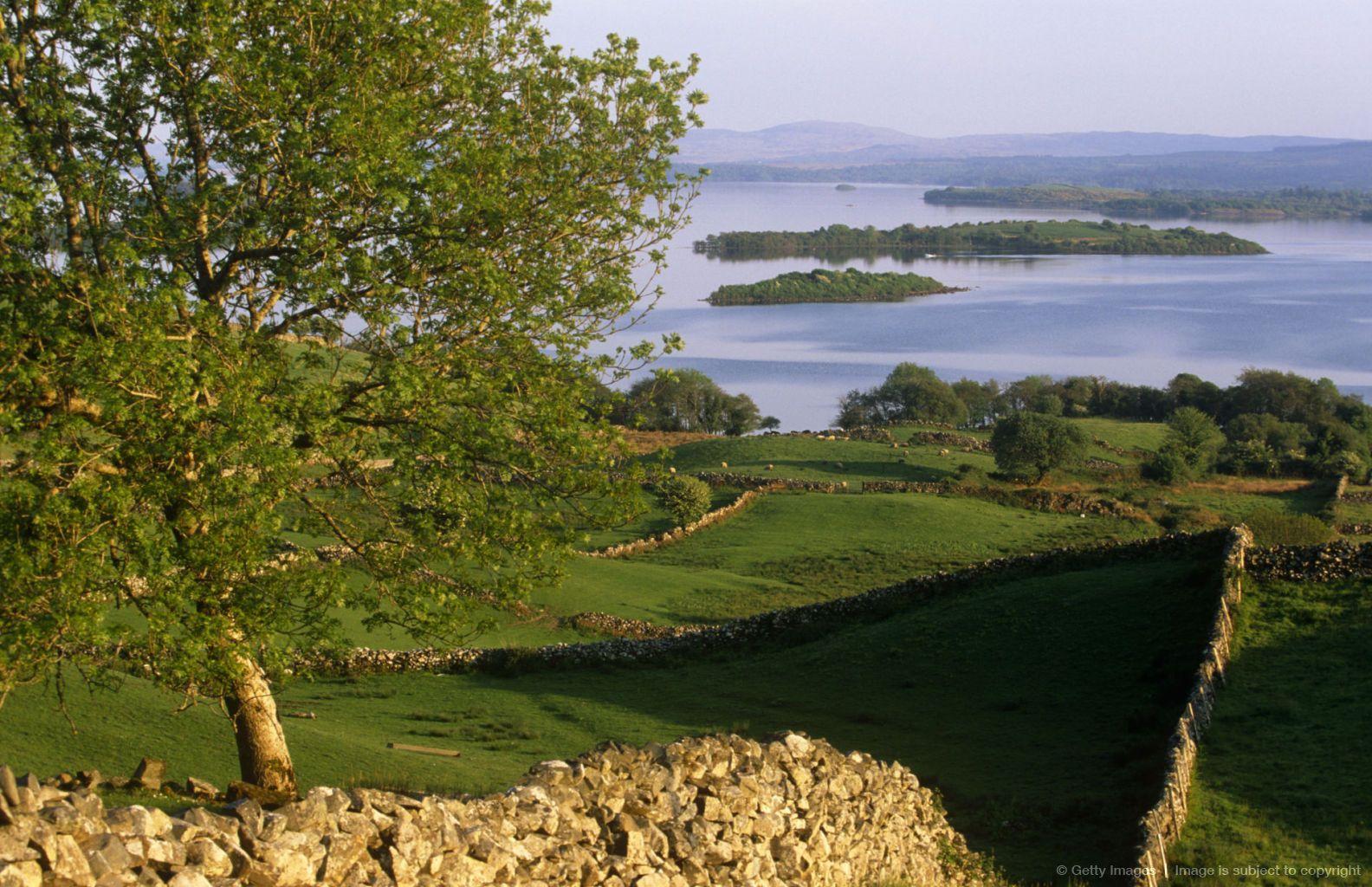 Image detail for Ireland, Galway. Lough Corrib, Connemara