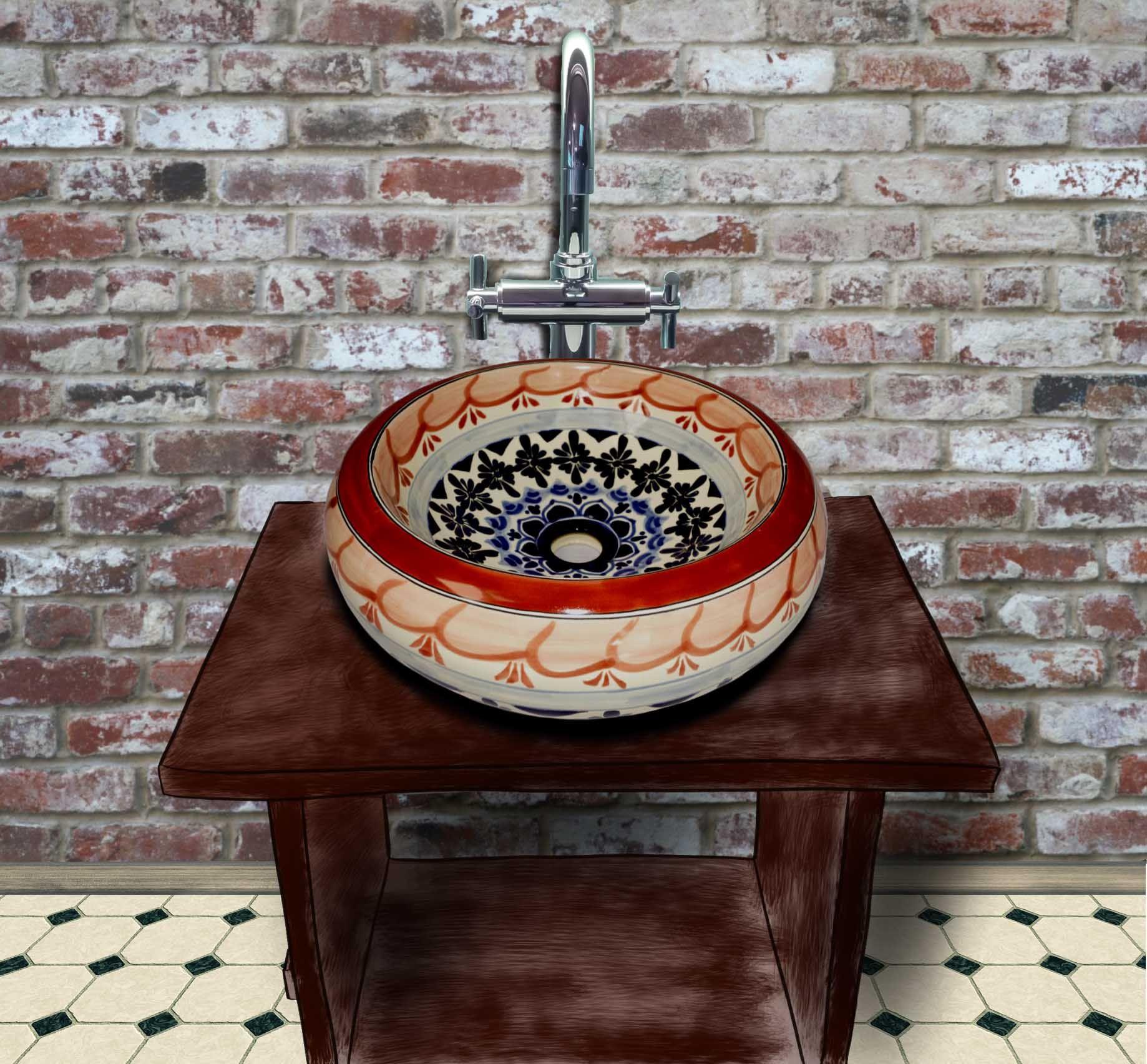 Farbige Waschbecken   Waschbecken, Einbauwaschbecken, Blumentopf keramik
