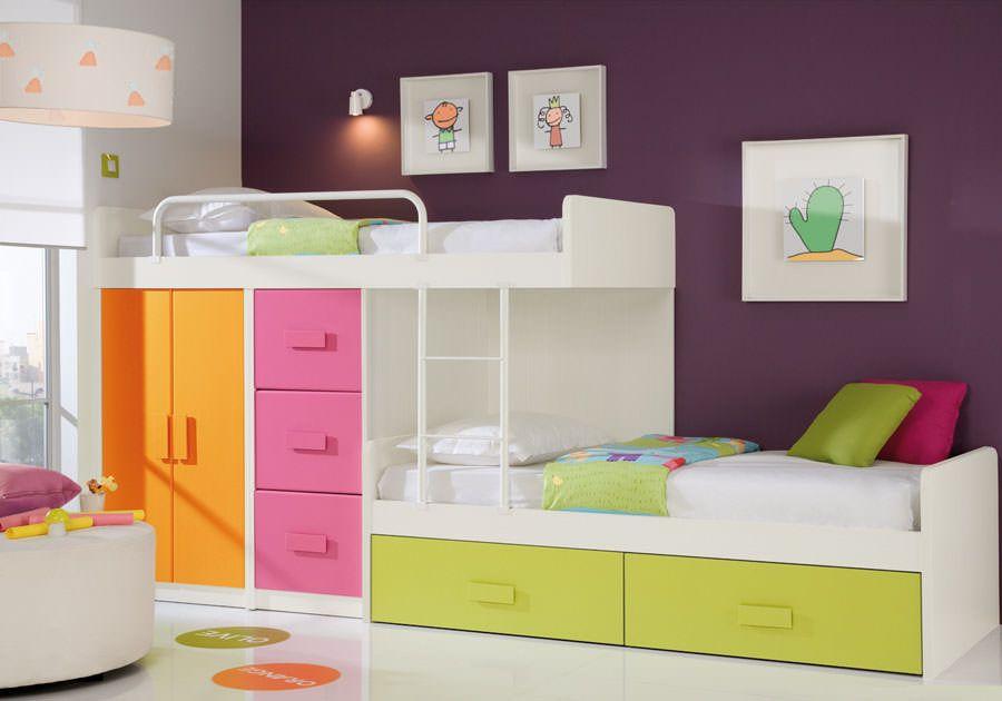 Letti Per Bambini Divertenti.30 Simpatiche E Coloratissime Camerette Per Bambini Camerette
