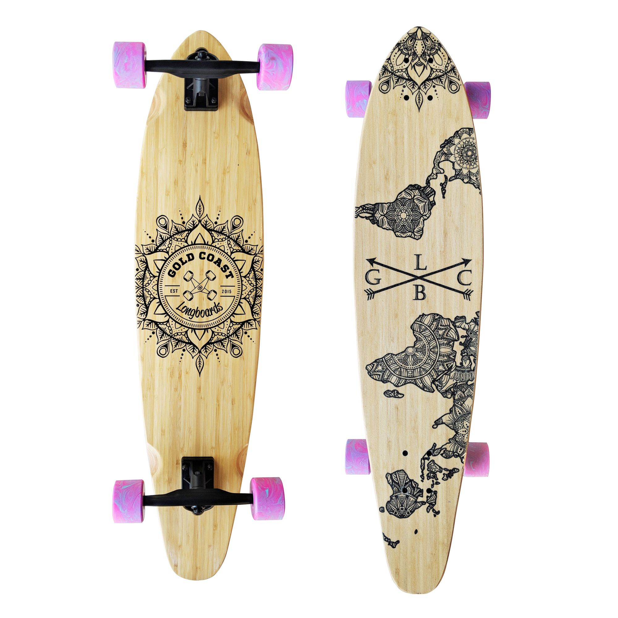 Pin On Mandala Art Skateboards