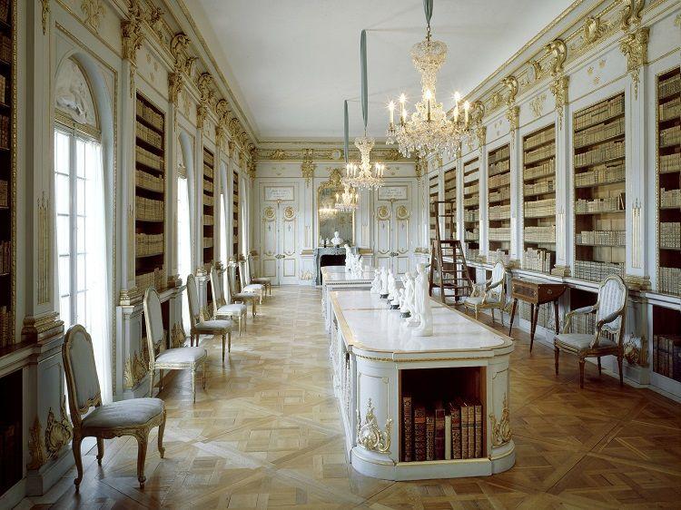Drottningholm Palace - Lovisa Ulrika's library (Image Credits: Alexis Daflos and Kungl Hovstaterna)