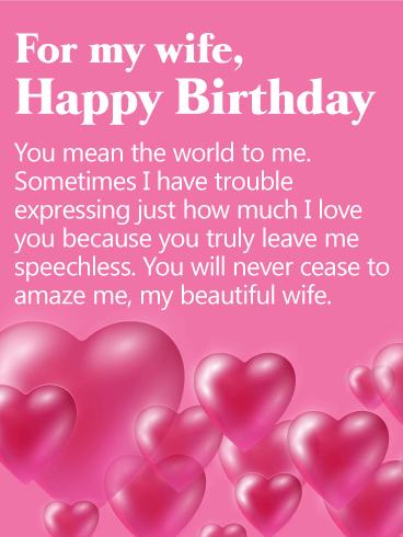 Happy Birthday Quotes For Wife 158+ Unique Heartwarming Happy Birthday Wife Wishes & Quotes  Happy Birthday Quotes For Wife