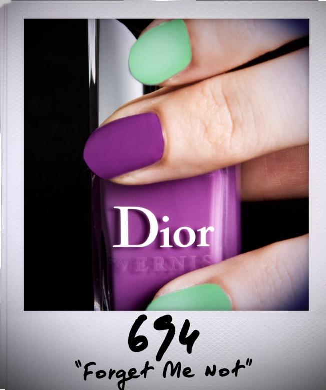 Dior Backstage MakeUp.  The Garden Look, vernis.  Discover more on www.dior-backstage-makeup.com