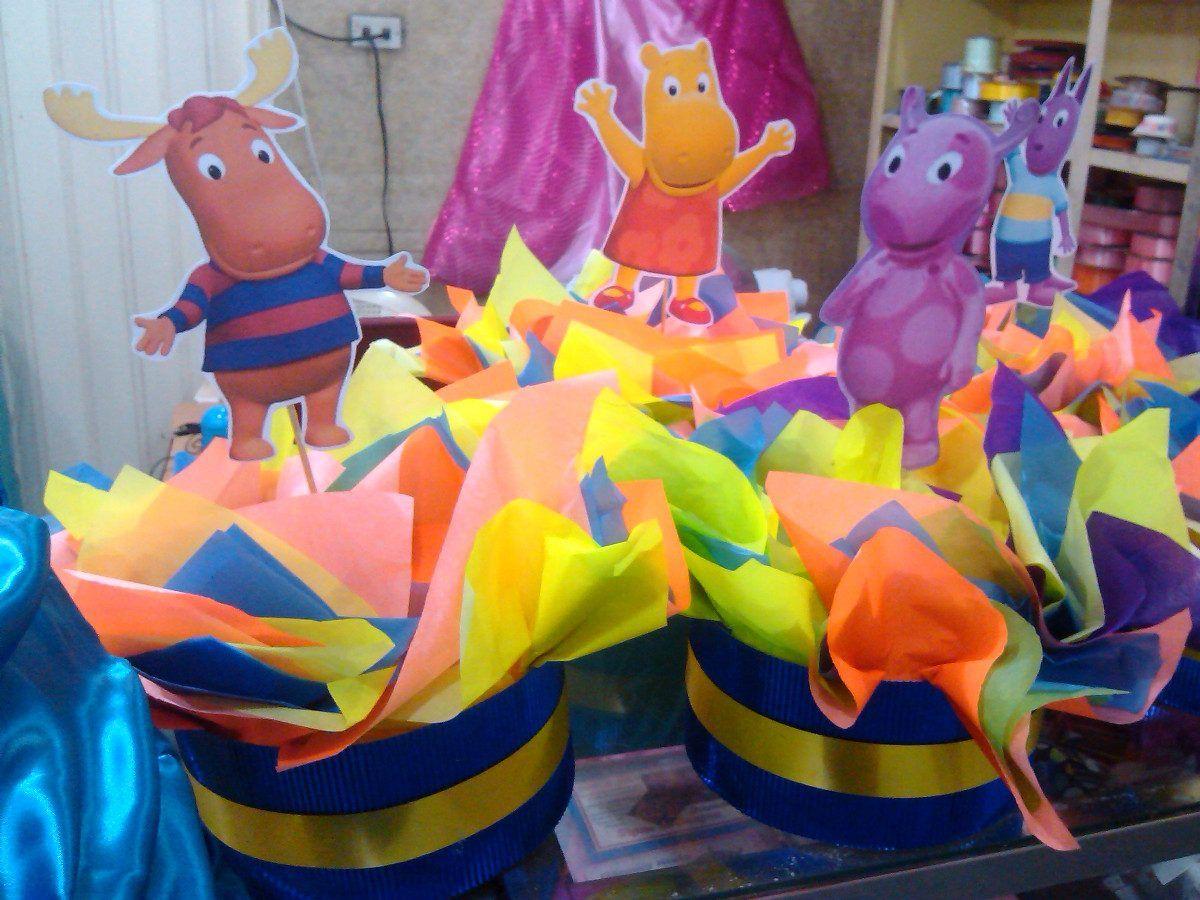 cumpleaños infantiles tematica backyardigans - Buscar con Google ...