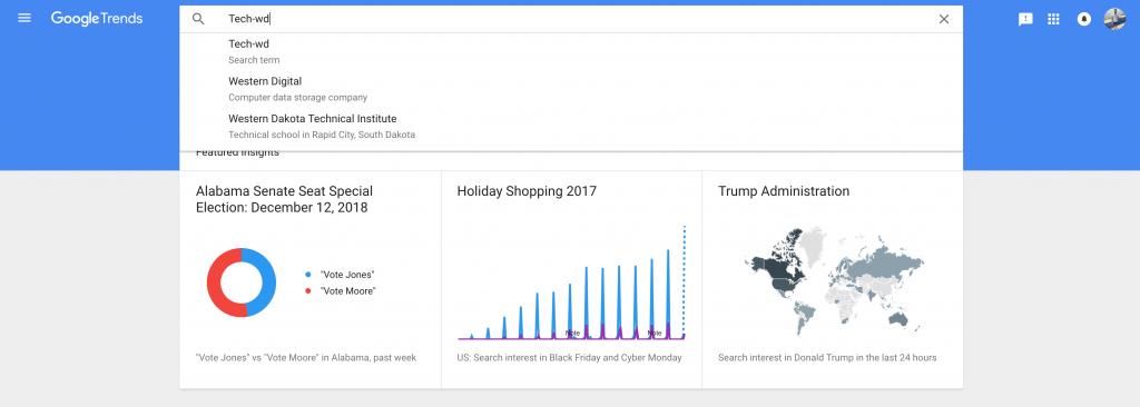 قوقل ت تيح الآن الاط لاع على كلمات البحث بشكل آني في جميع خدماتها Google Trends Holiday Shop Holiday Specials